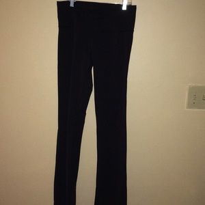High waisted Lululemon yoga pants